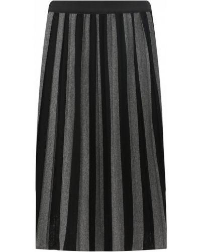 Шерстяная юбка - серая Van Laack