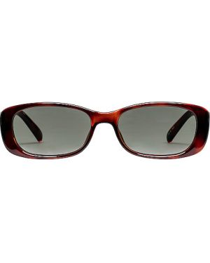 Brązowe okulary Le Specs