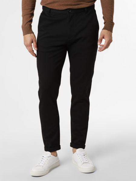 Czarne spodnie casual Lindbergh