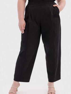 Черные прямые брюки Lessismore