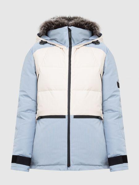 Пуховая куртка - голубая Yves Salomon Army