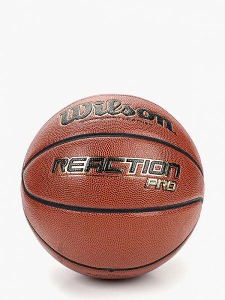 Коричневый баскетбольный спортивный костюм Wilson