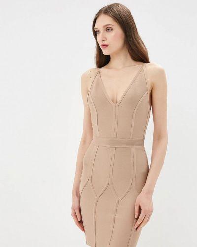 Платье весеннее бежевое Danity