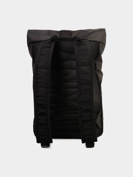 Черный рюкзак Dkny