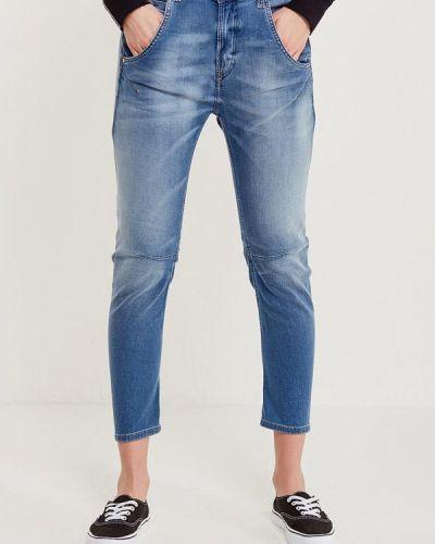 Синие джинсы бойфренды Diesel