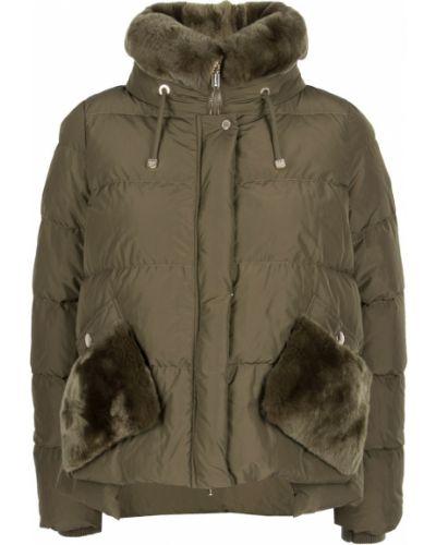Стеганая куртка из кролика нейлоновая Diego M