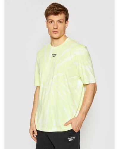 Żółty t-shirt Reebok Classic