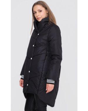 Черная утепленная куртка Sfn