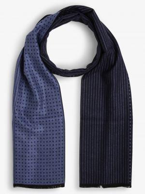 Niebieski szalik elegancki Finshley & Harding