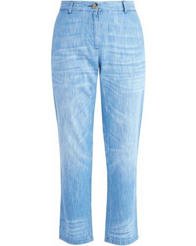 Расклешенные джинсы с вышивкой с карманами Gucci