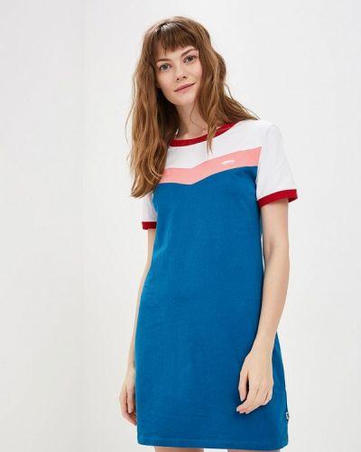 Платье платье-сарафан синее Vans