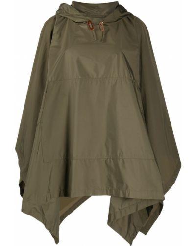 Кейп без рукавов с капюшоном свободного кроя Mackintosh