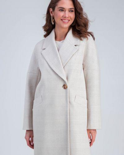 Пальто оверсайз - бежевое Emass