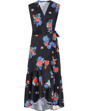 Платье с запахом с цветочным принтом Tory Burch