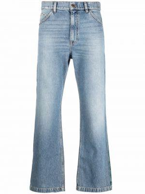 Niebieskie klasyczne mom jeans Erl