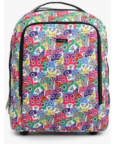 Разноцветный чемодан Polar