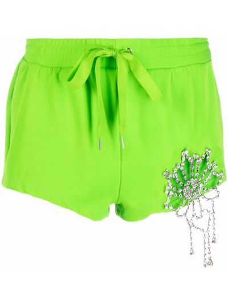 Зеленые шорты из эластана Area