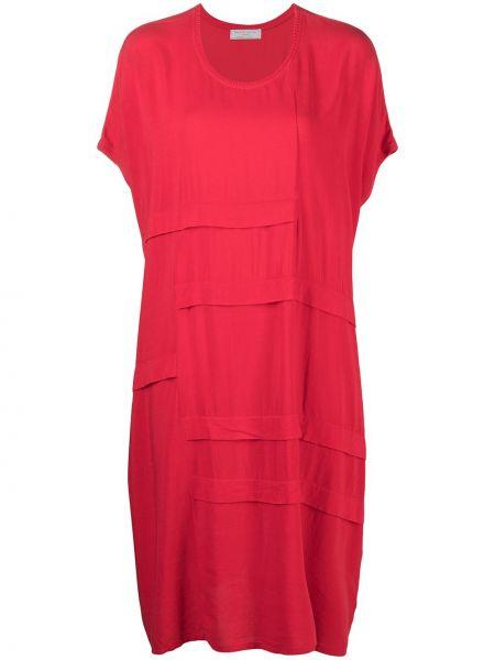 С рукавами красное платье миди с вырезом SociÉtÉ Anonyme