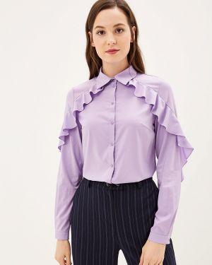 Блузка с рюшами фиолетовый Adzhedo
