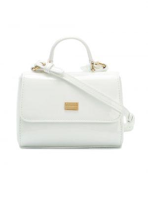Белая сумка-тоут Dolce & Gabbana Kids