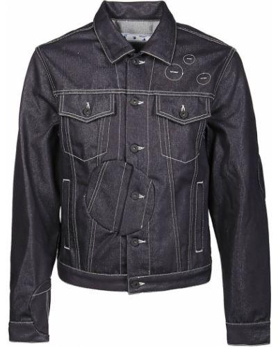Czarna kurtka jeansowa Off-white