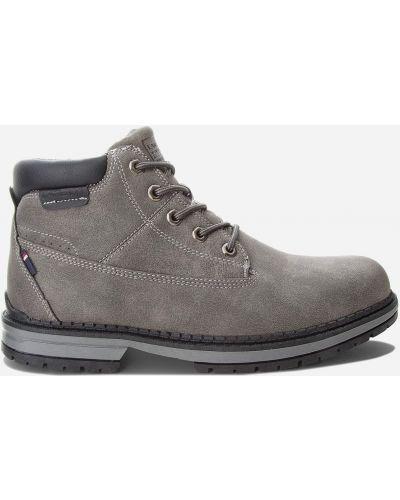 Текстильные ботинки - серые Lanetti