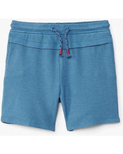 Синие шорты Mango Kids
