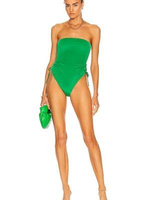 Zielony stroj kąpielowy jednoczęściowy Aexae