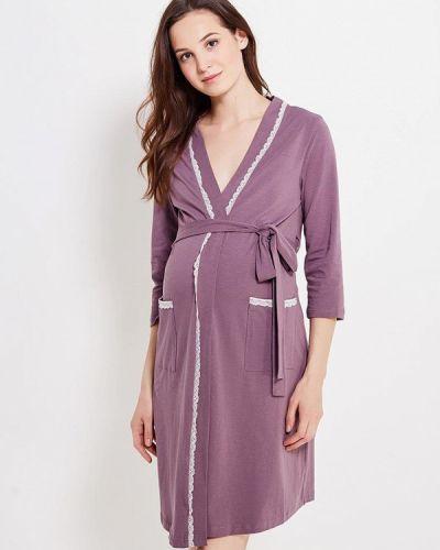 Фиолетовый домашний халат Мамин дом