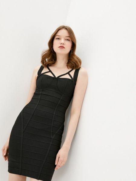 Платье футляр черное Soky & Soka