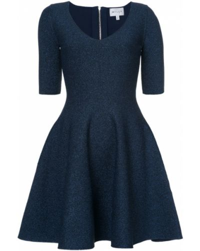 Платье с V-образным вырезом солнце Milly