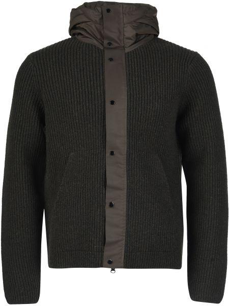 Шерстяная куртка - коричневая C.p. Company