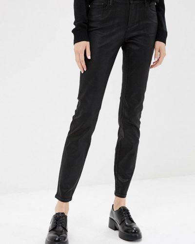 Черные брюки повседневные Armani Exchange