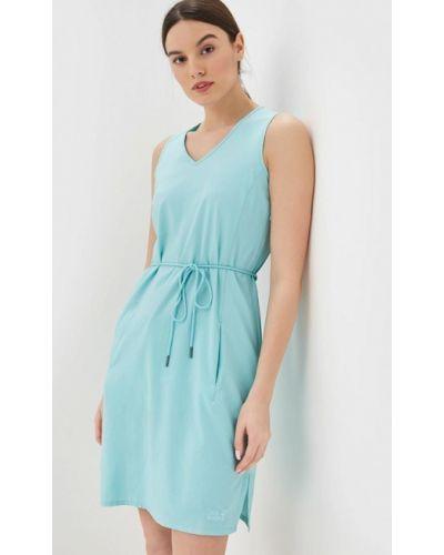 Платье - бирюзовое Jack Wolfskin