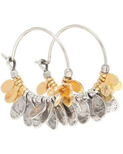 Серебряные серьги-гвоздики Isabel Marant