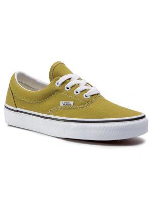 Światło zielony sneakersy Vans
