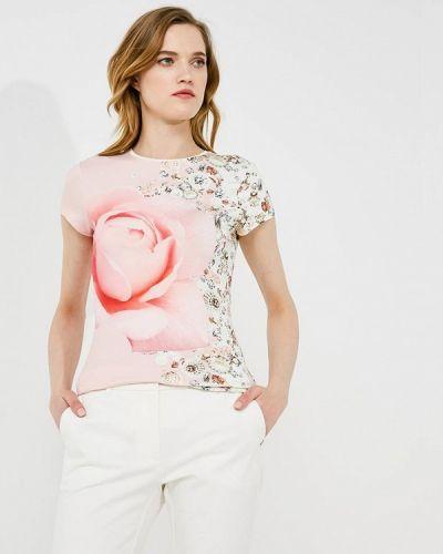 Розовая футболка Ted Baker London