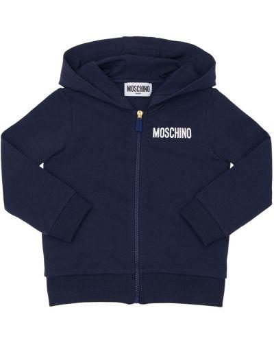 Bluza, niebieski Moschino