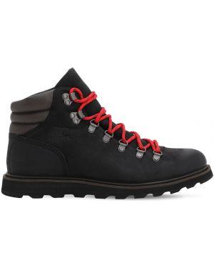 Кожаные ботинки водонепроницаемые со шнуровкой Sorel