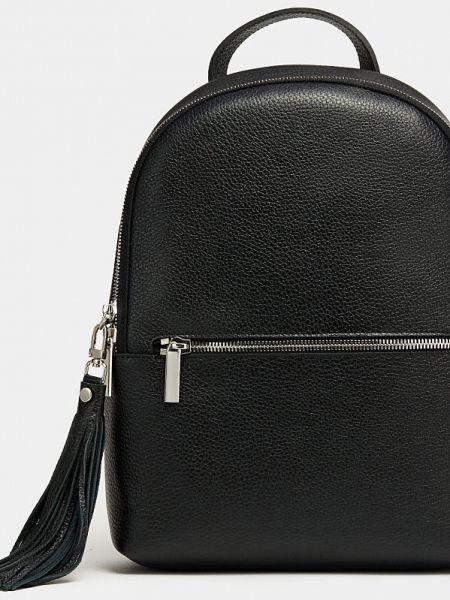 Черная кожаная сумка из натуральной кожи Ralf Ringer