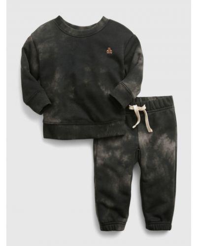 Czarny dres bawełniany Gap