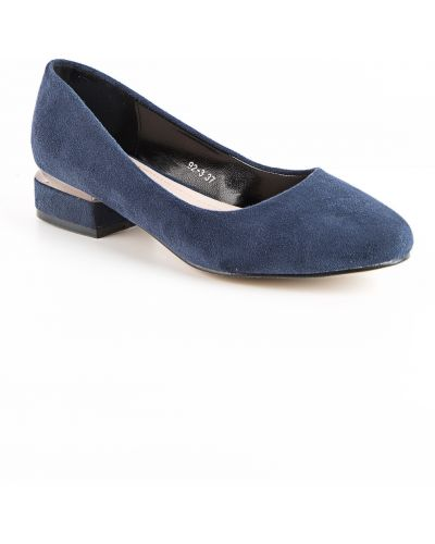 Текстильные синие туфли Meitesi
