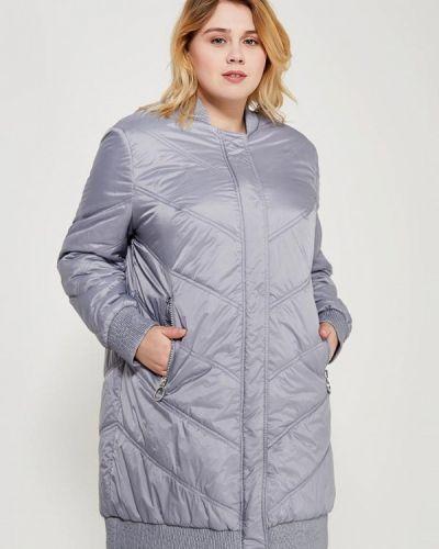 Серая утепленная куртка Samoon By Gerry Weber