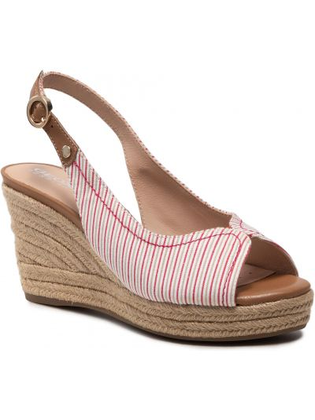 Sandały espadryle - beżowe Geox
