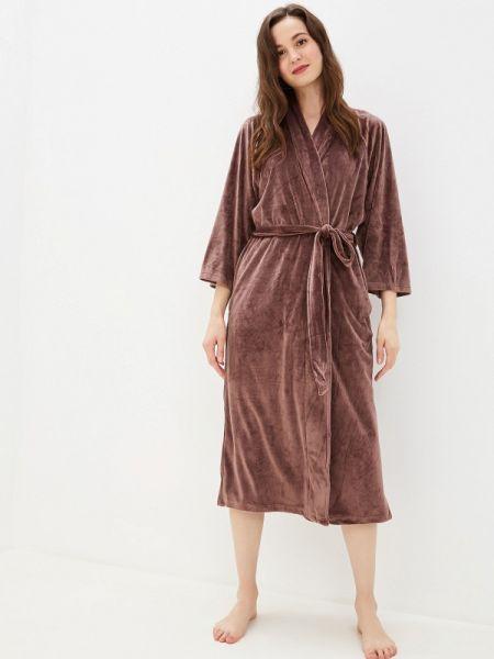Домашний халат - коричневый Lelio