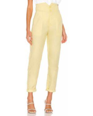 Klasyczne spodnie z kieszeniami obcisłe L'academie