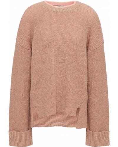 Кашемировый вязаный свитер золотой Joie