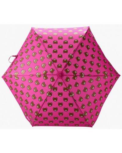 Розовый зонт Moschino