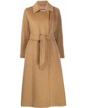 Пальто с поясом Max Mara Studio