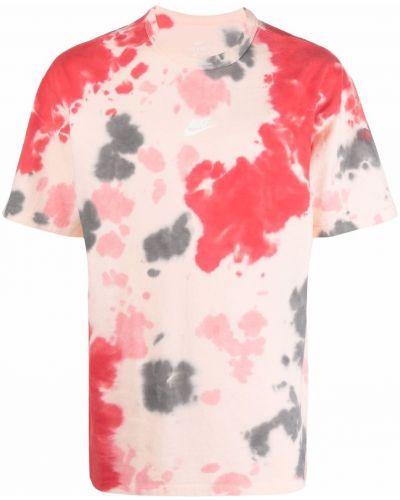 T-shirt bawełniany z printem krótki rękaw Nike